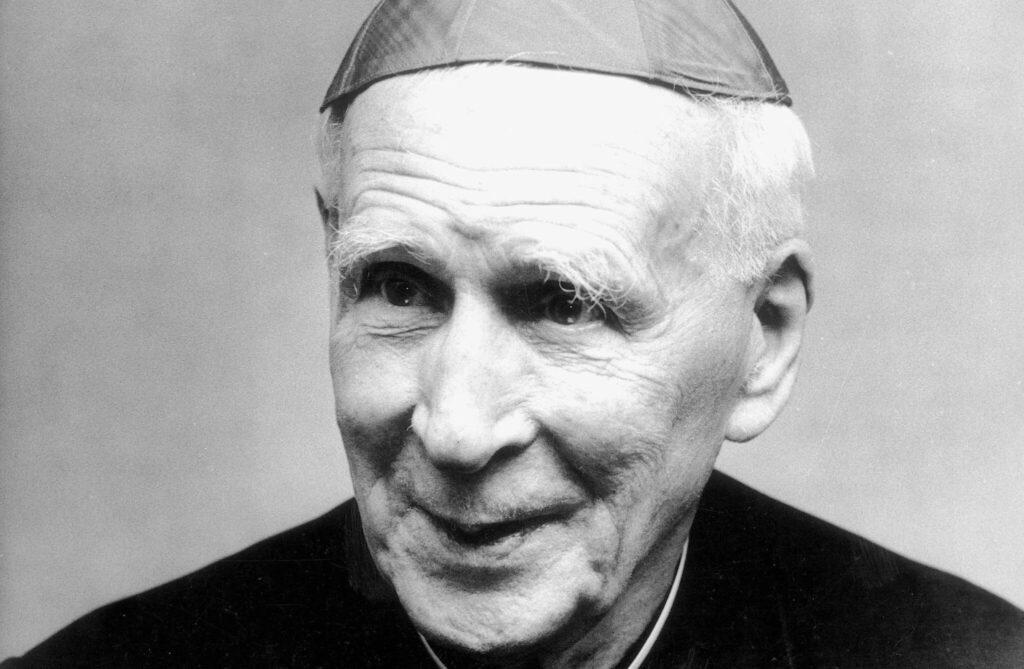 le Cardinal Henri de Lubac en 1983